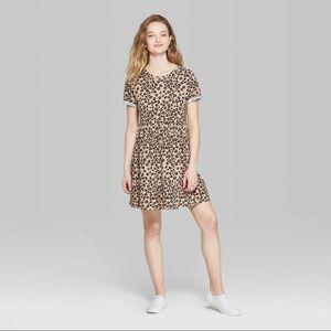 Target leopard print dress